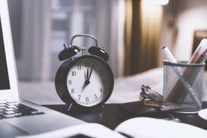 Zeit zum Schreiben